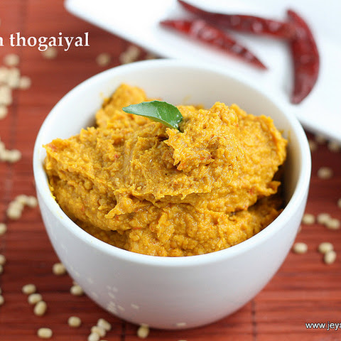 PUMPKIN THOGAYAL RECIPE | THOGAIYAL RECIPES