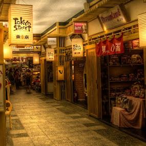 Tokyo Street by Steven Chong - City,  Street & Park  Markets & Shops
