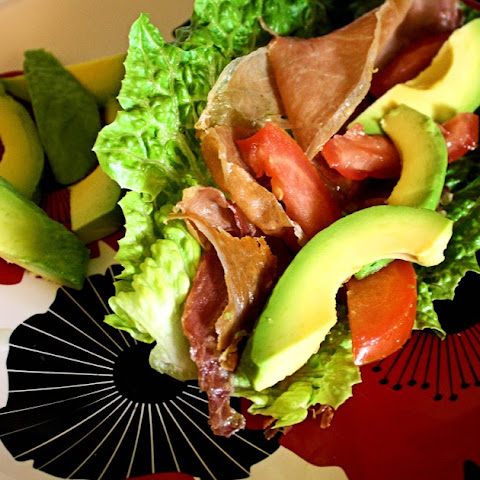 Prosciutto, Avocado, and Tomato Lettuce Wrap