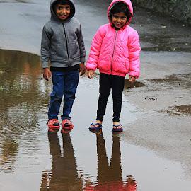 Happy Kids by Guru Prasad - Babies & Children Child Portraits ( happy, child photography, child portrait, children, happiness )