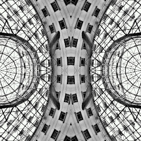 Symmetry of line by Sim  Chee teck - Buildings & Architecture Other Exteriors ( structure, line, symmetry )