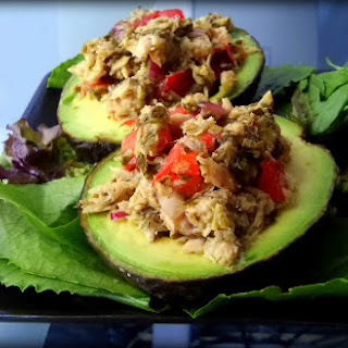 Incredible Avocado and Tuna