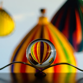 Refraction by Dawid Hollenbach - Artistic Objects Glass ( glass ball, artistic, symmetry )