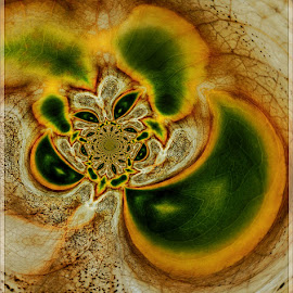 Leaf art by Kittie Groenewald - Digital Art Abstract ( abstract, patterns, autumn, leaves )