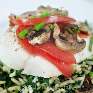 Baked Cod With Tomatoes And Olives Recipes