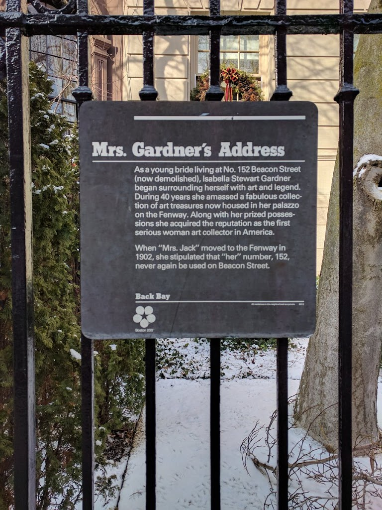 As a young bride living at No. 152 Beacon Street(now demolished), Isabella Stewart Gardnerbegan surrounding herself with art and legend.During 40 years she amassed a fabulous collec-tion of art ...