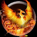 Flame Phoenix Keyboard Theme Icon