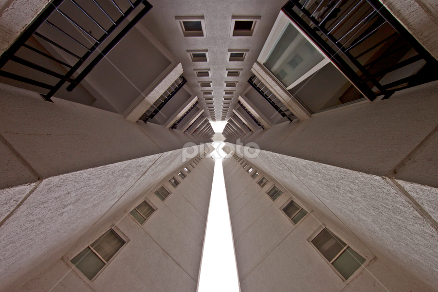 Patterns of life by Md Mukibul Islam - Abstract Patterns ( abstract, building, patterns, edges, converging point, lines )