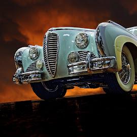 1949 Delahaye by JEFFREY LORBER - Transportation Automobiles ( 1949, vintage cars, lorberphoto, rust 'n chrome, delahaye, jeffrey lorber, car photo )
