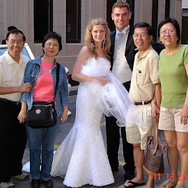 Bridal Couple in Adelaide by Dennis  Ng - Wedding Groups (  )