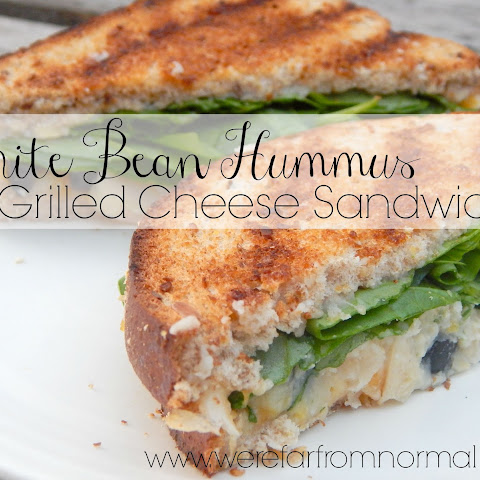 White Bean Hummus Grilled Cheese Sandwiches