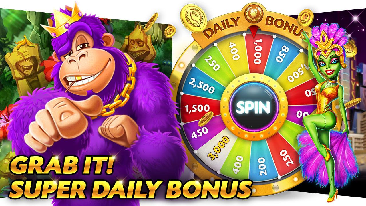 Caesars Slots Spin Casino Game Screenshot 2