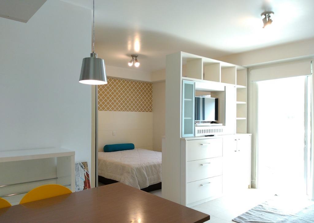 Flat residencial para locação, Brooklin, São Paulo.