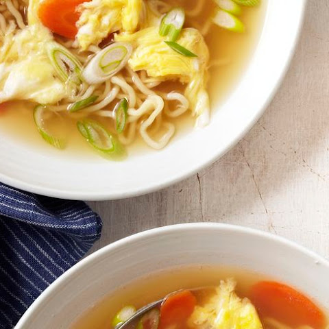 Egg-Drop Noodle Soup