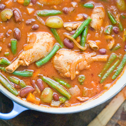 Italian Chicken w/ Olives and Beans