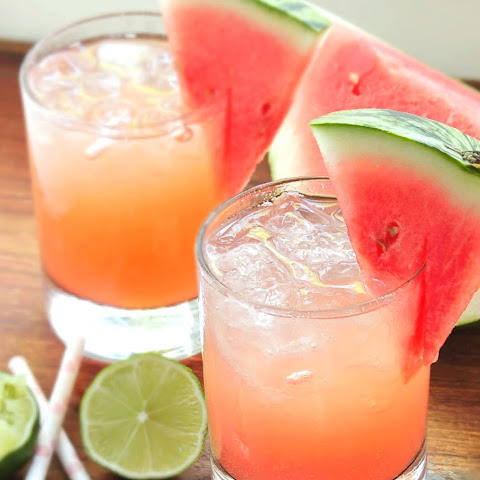 Skinny Fresh Watermelon Margaritas