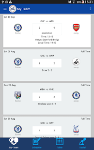 EPL 2015-16 - screenshot