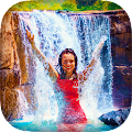 Download Waterfall Photo Frames APK on PC