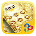 Free Download Gold Glitter Go Launcher APK for Samsung