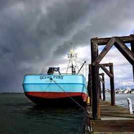 Ocean Fury  by Todd Reynolds - Transportation Boats