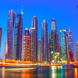 Dubai Marina by Abbas Mohammed - Buildings & Architecture Office Buildings & Hotels ( amazing, new, dubai uae, marina )