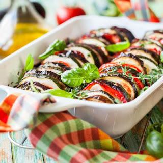 Baked Ratatouille Eggplant Recipes