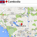 Free Cambodia map APK for Windows 8