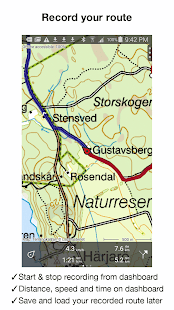 Topo GPS Sweden - screenshot