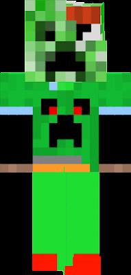 segue meu canal diario do minecraft tem uma cara de um criper mei laranja e amarela blz :)