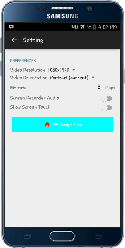 Screen Recorder PRO (NO ROOT) Screenshot 3