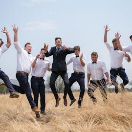 Happiness by Lood Goosen (LWG Photo) - Wedding Groups ( groomsmen, wedding, getting ready, wedding photogrpahers, wedding photographer, marriage, groom )