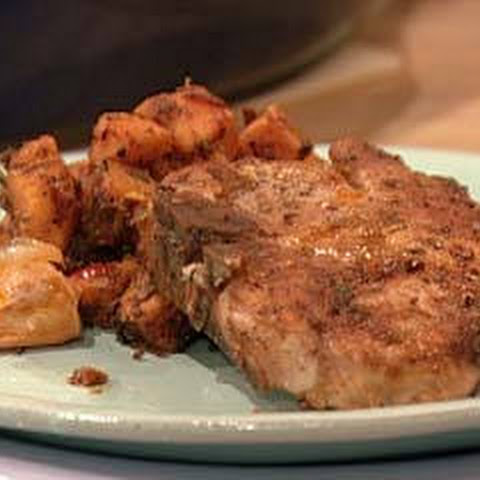 Gordon Ramsay's Spiced Pork Chops with Sweet Potatoes