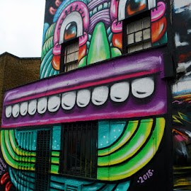 london by Kathleen Devai - Buildings & Architecture Other Exteriors ( colour, building, camden, wall, city )