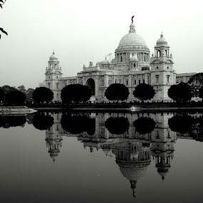 VICTORIA MEMORIAL HALL.............. by Arunabha Kundu - Buildings & Architecture Statues & Monuments ( soham, pratiki, arijit, arnab, dipankar )