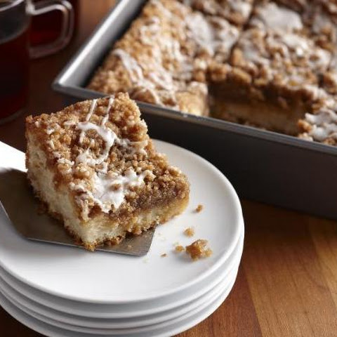 Beginner's Cinnamon Streusel Coffee Cake