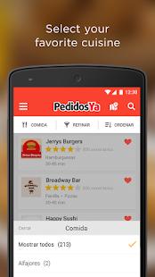 App PedidosYa - Food Delivery APK for Kindle