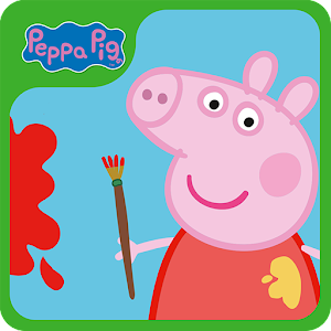 Download Android Game Peppa Pig: Paintbox for Samsung