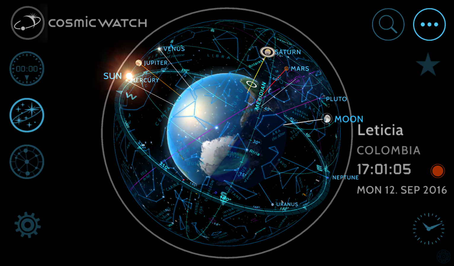 Cosmic-Watch Screenshot 13