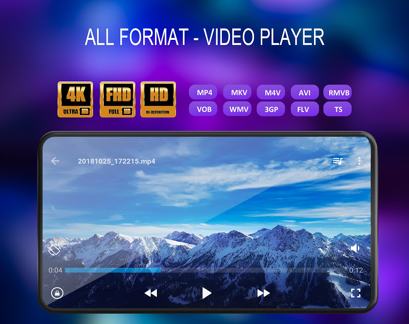 Video Player All Format Screenshot 1