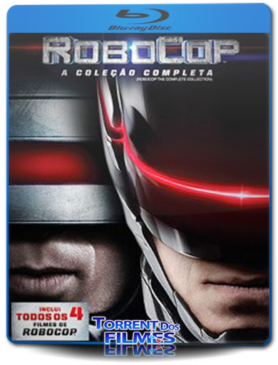 Coleção RoboCop (1987-2014) Torrent Dublado - Bluray Download 720p