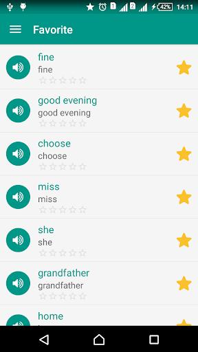 English vocabulary daily screenshot 5