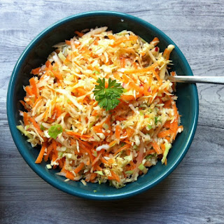 Healthy Coleslaw {Mom's Kitchen}
