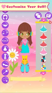 Lil Cuties Dress Up Girls Game - screenshot