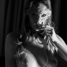 A Feline Woman- 144 by Lissa White - Nudes & Boudoir Artistic Nude