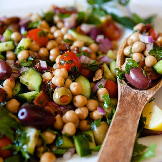 Mediterranean Chickpea Salad Olives Recipes