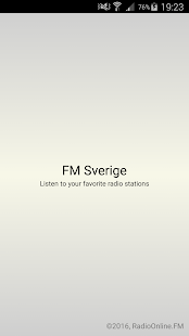 FM Sverige - screenshot