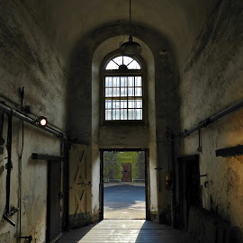 Cell Block 1 by Gary Ambessi - Buildings & Architecture Decaying & Abandoned