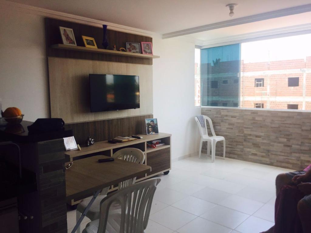 Apartamento em Jacumã 50m da Praia!
