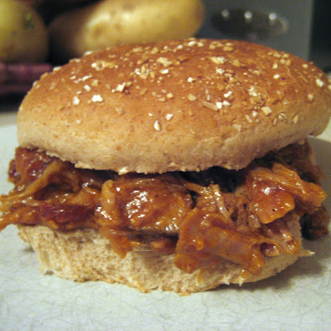 Mango Bourbon Pulled Pork (Slow Cooker!)