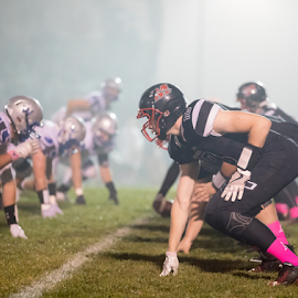 Football Fog by Robert George - Sports & Fitness American and Canadian football (  )